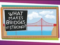 SciShow Kids: What Makes Bridges So Strong? by scishow: A SciShow Kids viewer wrote us to ask how bridges are strong enough to carry cars and trucks! Jessi and Squeaks can explain – with blocks! Support at: https://www.patreon.com/scishow
