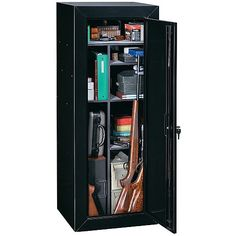 Stack On GCWB-10-5-DS 10 Gun Security Cabinet - Rifle Storage ...