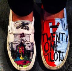 I like the album cover one IDK why it just looks better with the vans and the white