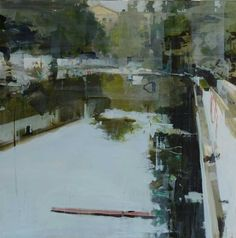 alex+kavensky   Alex Kanevsky. Mansion, 2014. 20 x 20 inches, oil on board.Alex ...