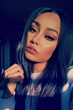 Leigh-Anne is so gorgeous and she is perfect Jesy Nelson, Perrie Edwards, Little Mix Leigh Ann, Meninas Do Little Mix, Snapchat, Little Mix Girls, Rapper, Litte Mix, Mixed Girls