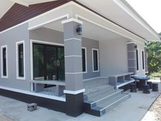 Village House Design, Kerala House Design, House Front Design, Small House Design, Cool House Designs, Modern Bungalow House Design, Best Modern House Design, Classic House Design, House Design Photos