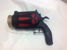 Harley Quinn cork gun cosplay weapon by CosBros on Etsy