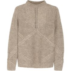 Helmut Lang Linear knitted sweater found on Polyvore