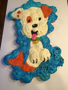 Bubble Guppy Cupcake Cake