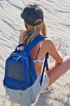 18 Backpacks That Have Your Back, No Matter What #refinery29  http://www.refinery29.com/hiking-backpacks#slide-2  Red battery signs no more. This bag is equipped with a solar panel that enables all of your electronic devices to charge at anytime.Birksun Boost Navy, $99.90, available at Birksun....