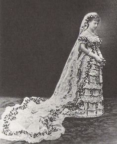 Victoria of Baden, later Queen of Sweden.