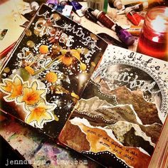 News. art journal pages mixed media collage art. Sketchbook Pages, Art Journal Pages, Art Journals, Sketchbook Ideas, Journal Ideas, Drawing Journal, Drawing Tips, Glue Book, Mixed Media Journal