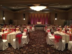 Royal Traditions Wedding  #lachefs #lachefsdecor #decor #wedding #weddingreception #reception #red #gold #rose #bling #demask