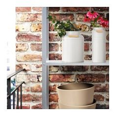 Refresh your home - IKEA - SOCKER, Plant pot, galvanized indoor/outdoor, galvanized, Suitable for both indoor and outdoor use. Galvanized for rust resistance. May be combined with other plant pots in the SOCKER series. At Home Furniture Store, Modern Home Furniture, Affordable Furniture, Indoor Plant Pots, Potted Plants, Indoor Garden, Ikea Skurar, Recycling Facility, Galvanized Steel