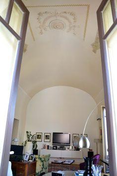 mammadisordine.blogspot.it Reading Corners, Oversized Mirror, Cozy, Living Room, Interior, Furniture, Home Decor, Environment, Houses