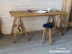 画像1: 馬脚テーブル