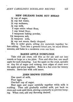 Retro Recipes, Old Recipes, Vintage Recipes, Cookbook Recipes, Sweet Recipes, Cooking Recipes, Vintage Food, Apple Recipes