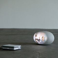Tony Oursler video projections
