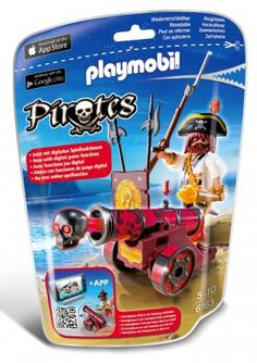 This is a Playmobil Pirates Interactive Cannon with Buccaneer Set Originally released July Gender: unisex. Play Mobile, Smartphone, Playmobil Pirates, Collection Playmobil, Control, Origami, Greek, Nerd, Gender