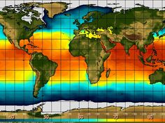 How El Niño will change the world's weather in 2014 -  El Nino : temperatures sea surface levels 5 June 2014