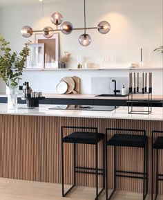 Kitchen Renovation, House Interior, Kitchen Decor, Contemporary Kitchen, Home Kitchens, Interior, Kitchen Design, Kitchen Interior, Home Remodeling