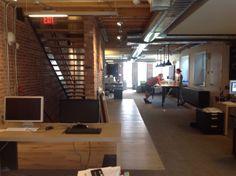 2nd floor, open offices