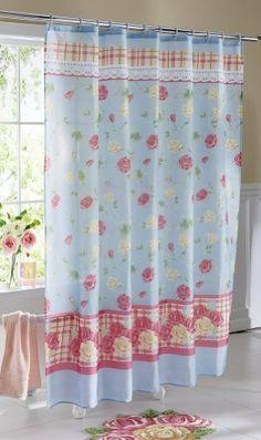 Pastel Country Rose Bathroom Shower Curtain, http://www.amazon.com/dp/B00AZ2P706/ref=cm_sw_r_pi_awdm_MP9ztb1ST0MVV