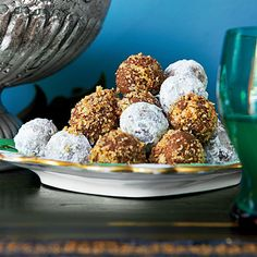 Pecan Bourbon Balls | Think a bourbon ball is a bourbon ball is a bourbon ball? Think again. Don't miss our new twist on this classic Christmas recipe.