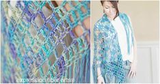 Boho Triangle Crochet Shawl [Free Pattern] - Your Crochet Crochet Shawl Free, Crochet Scarves, Diy Crochet, Crochet Clothes, Shawl Patterns, Crochet Patterns, Sleeveless Jumper, Triangles, Crochet Projects