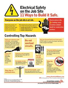 Infographic to Raise Awareness during Electrical Safety Month | News content from Electrical Construction & Maintenance (EC&M) Magazine