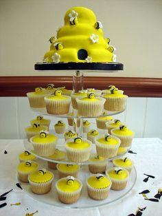 Beekeepers Cupcake Tower