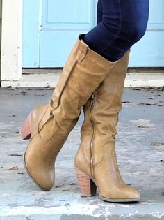 Tall Heeled Riding Boot - $52.99 : FashionCupcake, Designer Clothing, Accessories, and Gifts