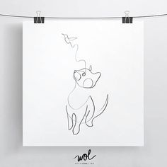 Best Selling Cat Print Black and White Cat Cat Line Art Minimal Cat Minimalist Cat Cat and Bird One Line Drawing One Stroke Cat Gift