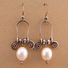 Pearl Swingers by marynewton on Etsy