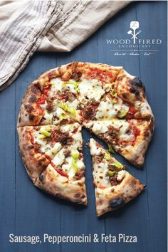 A wood fired oven pizza recipe from The Wood Fired Enthusiast