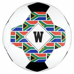 Patriotic SOUTH AFRICA FLAG Monogram Soccer Ball - tap, personalize, buy right now! #south #african #flag, #flag #of Soccer Gear, Soccer Ball, Old Fashioned Games, South African Flag, Africa Flag, Family Fun Night, Inspirational Gifts, Kids Learning, Monogram
