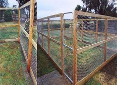 Deer Fence Great Practical Fencing For The Garden