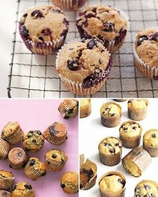 Whether you're eating them on the go or serving them up at brunch, blueberry muffins are a classic, and for good reason. But they're also infinitely adaptable: Add bananas for a flavor twist, use whole wheat or bran to increase the nutritional value, or double the blueberries. Whichever recipe you choose, consider doubling it: Blueberry muffins disappear quickly (and freeze well).