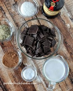 Chocolate Truffles Mise En Place #hemp