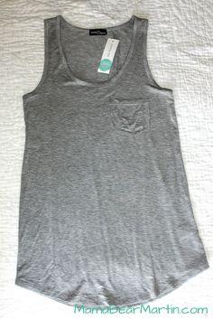 Market & Spruce Madrella Knit Pocket Tank Stitch Fix! My ultimate go-to essential.