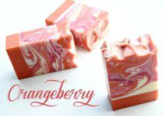 Orangeberry  handmade soap