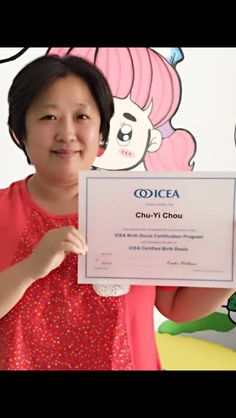 I am so Proud of Christine. She is the first 5 to become ICEA certified as a birth doula.