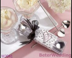 revuelva hasta una lil el amor del corazón de plata agitadores de paja BETER-WJ041     http://es.aliexpress.com/item/BeterWedding-TH014-Palm-Tree-Favor-Box-138pcs-used-as-Wedding-gift-and-wedding-favor-wedding-decoration/611424775.html #regalos #regalo #favores #artesanía