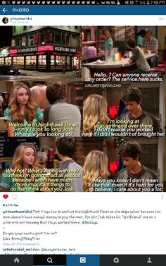 Sabrina Carpenter working at the place where Maya Hart's mom works. Girl Meets World Josh, Boy Meets World Quotes, Bmw Quotes, Cory Matthews, Disney Fun Facts, Relationship Posts, My Heart Hurts, Life Is Tough, Old Tv Shows
