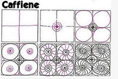 Caffeine (molossus, who says Life Imitates Doodles) Tags: tangle zentangle zendoodle tanglepattern zentangleinspiredart