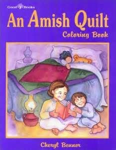 Quilts, Barns and Buggies Adult Coloring Book: Amish Qu... https ...