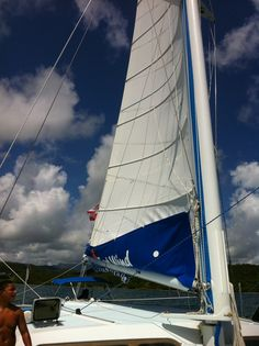 Snorkeling From A 62 Foot Catamaran Off The Coast Of Beautiful Puerto Rico With A Stop At The Islands Of Icacos And Palo