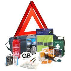 European Driving Kit - Car First Aid Kit - French Breathalyser