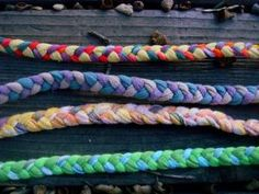 How to make T-Shirt Yarn #upcycle #crafts