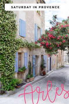 Saturday in Provence: Charming Arles, France