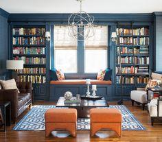 TOP HOME DESIGN LIBRARY IDEAS  See more: http://www.delightfull.eu/en/inspirations/interiors-decor/home-design-library-ideas/