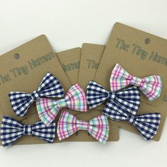 Bow Ties for spring and summer  http://the-tiny-human.myshopify.com/products/bow-tie-clip-on
