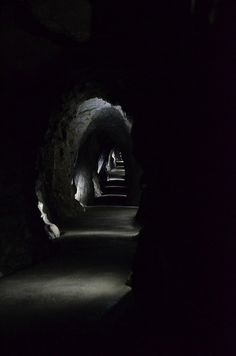 June 5, 2012 - Passageway in the caves of Oregon Caves National Park. And yes…