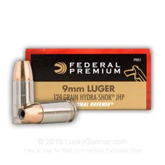 Image 1 of 9mm Ammo from Federal Save those thumbs & bucks w/ free shipping on this magloader I purchased mine http://www.amazon.com/shops/raeind  No more leaving the last round out because it is too hard to get in. And you will load them faster and easier, to maximize your shooting enjoyment